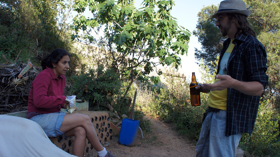 tercera plantacion, con Maia, Marc y Patri (falta en la foto) - troisième plantation, avec maia, marc et Patri (manque sur la photo) 23.05.2015