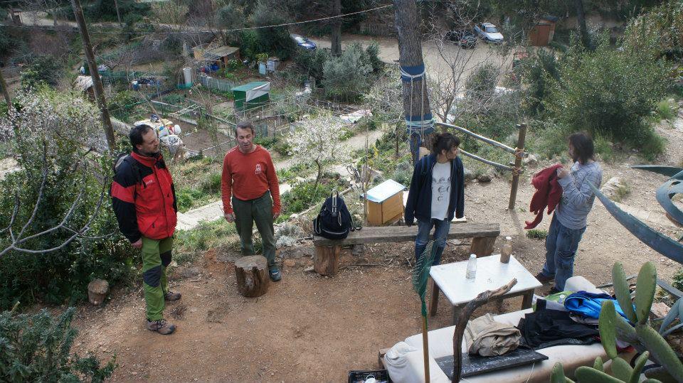 Aldo, David, Sabina y Marc
