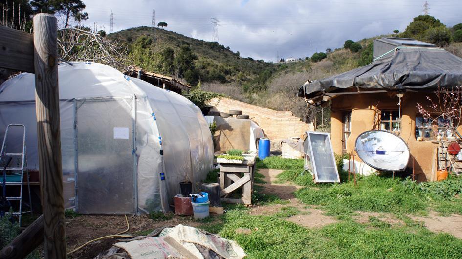Hibernadero de la vivienda - Serre de la communauté